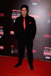Actor Mohit Raina during the 20th Annual Life OK Screen Awards in Mumbai, on January 14, 2014.