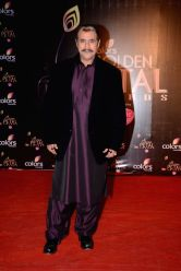 Actor Puneet Issar during COLORS Golden Petal Awards 2013 in Mumbai on Dec.14, 2013.