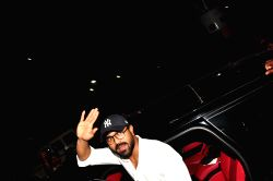 Actor Ram Charan Spotted at airport.