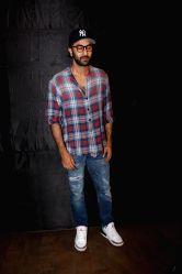 Actor Ranbir Kapoor during the special screening of upcoming film