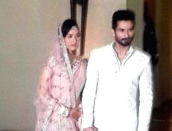Shahid Kapoor introduced his new bride