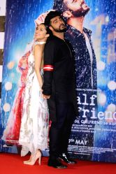 Actors Arjun Kapoor and Shraddha Kapoor during the trailer launch of film Half Girlfriend in Mumbai on April 10, 2017.