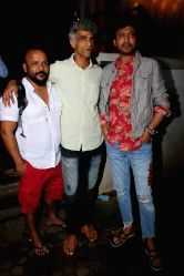 Actors Makarand Deshpande and Irrfan Khan during the inauguration of