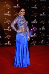 Actress Avika Gor during COLORS Golden Petal Awards 2013 in Mumbai on Dec.14, 2013.