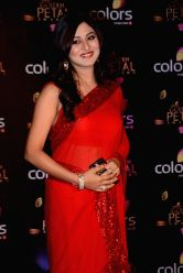 Actress Falaq Naaz during COLORS Golden Petal Awards 2013 in Mumbai on Dec.14, 2013.