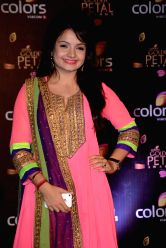 Actress Giaa Manek during COLORS Golden Petal Awards 2013 in Mumbai on Dec.14, 2013.
