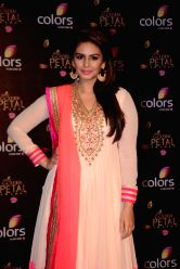 Actress Huma Qureshi during COLORS Golden Petal Awards 2013 in Mumbai on Dec.14, 2013.