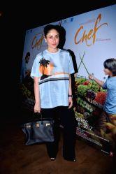 Actress Kareena Kapoor Khan during the screening of upcoming film