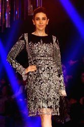Actress Karisma Kapoor during the Lakme Fashion Week Winter/Festive 2017 in Mumbai on Aug 20, 2017.