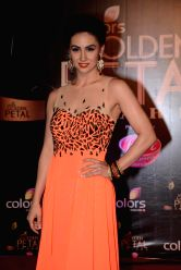 Actress Lauren Gottlieb during COLORS Golden Petal Awards 2013 in Mumbai on Dec.14, 2013.
