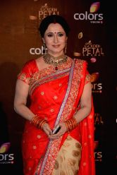 Actress Nishigandha Wad during COLORS Golden Petal Awards 2013 in Mumbai on Dec.14, 2013.