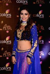 Actress Pratyusha Banerjee during COLORS Golden Petal Awards 2013 in Mumbai on Dec.14, 2013.