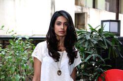 Mumbai: Sarah Jane Dias spotted outside a restaurant