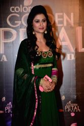 Actress Shefali Sharma during COLORS Golden Petal Awards 2013 in Mumbai on Dec.14, 2013.