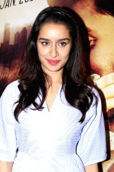 Actress Shraddha Kapoor during the media interaction for the film Ok Jaanu in Mumbai on Dec 16, 2016.