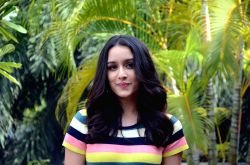 Actress Shraddha Kapoor during the promotion of her upcoming film