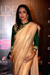 Actress Suchitra Pillai during COLORS Golden Petal Awards 2013 in Mumbai on Dec.14, 2013.