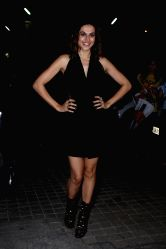 Actress Taapsee Pannu during the special screening of film