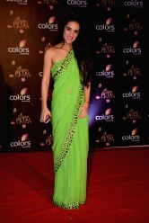 Actress Tara Sharma during COLORS Golden Petal Awards 2013 in Mumbai on Dec.14, 2013.