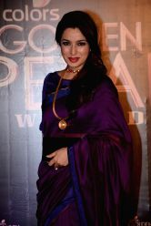Actress Tisca Chopra during COLORS Golden Petal Awards 2013 in Mumbai on Dec.14, 2013.