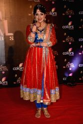 Actress Upasana Singh during COLORS Golden Petal Awards 2013 in Mumbai on Dec.14, 2013.