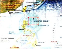 Area of operation where the P-8I of Indian Navy carried out the search and rescue operation to look for survivors from merchant ship Emerald Star that sank off Japan coast.
