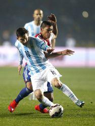 Argentina V/S Paraguay - Copa America 2015 semi-finals soccer match