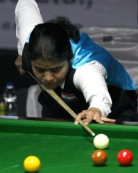 Bengaluru: IBSF World Snooker Championships - Chitra Magimairaj
