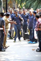 Bhubaneswar: Sri Lankan team arrives in Bhubaneswar