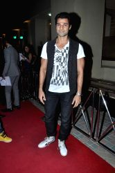 Celebs during the opening of Trilogy cafe in Mumbai on October 23