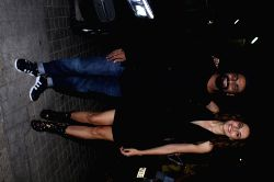 Choreographer Remo D'Souza and Actress Taapsee Pannu during the special screening of film