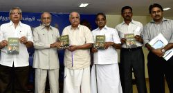 CPM general secretary Sitaram Yechury at the launch of Tamil version of his book on Modi regime in Chennai, on Oct.30, 2014.