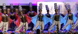 Dancers perform during inauguration of 19th Kolkata International Film Festival in Kolkata on Nov.10, 2013.