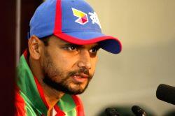 Dhaka (Bangladesh): Mashrafe Mortaza`s press conference
