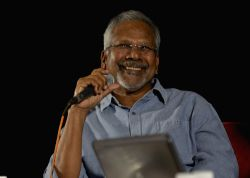 Director Mani Ratnam addresses a press conference on 8th Bengaluru International Film Festival in Bengaluru on Jan 30, 2016.