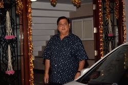 Filmmaker David Dhawan during a Diwali party hosted by actress Shilpa Shetty in Mumbai, on Oct 20, 2017.