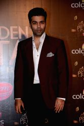 Filmmaker Karan Johar during COLORS Golden Petal Awards 2013 in Mumbai on Dec.14, 2013.
