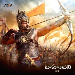 Hyderabad: Exclusive photo of Baahubali for Prabhas fans by Prabhas