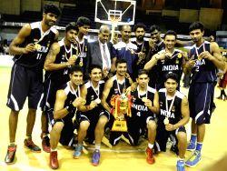 4th South Asian Basketball Championship - India vs Sri Lanka