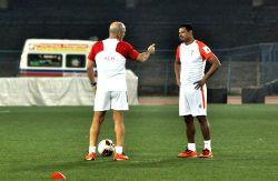 Kolkata: Atletico de Kolkata - practice session