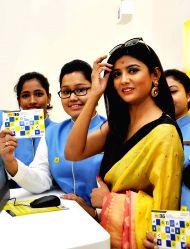 Kolkata: Parno Mitra during a programme