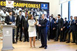 Madrid: REAL MADRID CELEBRATES THE EUROLEAGUE FINAL FOUR WINNER