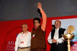 Manoj Kumar at MAMI film festival at Chandan.