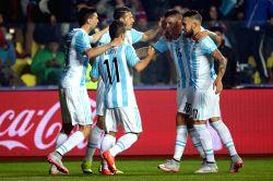 CHILE-CONCEPCION-COPA AMERICA-SEMIFINAL-ARGENTINA VS PARAGUAY