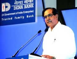 Minister of state for finance, Namo Narain Meena  addressing at Platinum Jubilee Celebration function of Dena Bank in Mumbai on Saturday 25 May 2013.