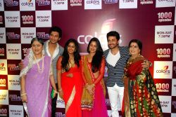 Mumbai: 1000 episodes completion party of COLORS Channel TV Serial Sasural Simar Ka