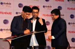 Mumbai: Cover launch of Filmfare Glamour and Style Awards Issue
