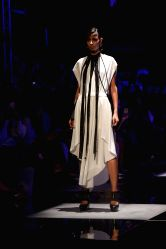 New Delhi:A Model walks the ramp during designer Rahul Gandhi & Rohit Khanna's show at Grand Finale of Amazon India Fashion Week Summer Spring 2017 in New Delhi on Oct 15,2017.