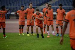 New Delhi:  Delhi Dynamos practice session