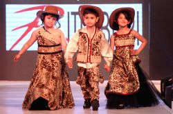 Fashion Show 2015 For Kids New Delhi Kids walk on the